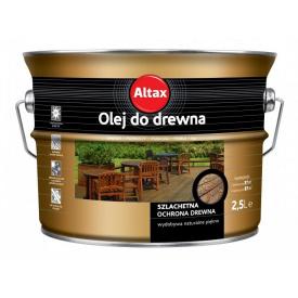 Масло для дерева Altax бесцветная 2,5 л