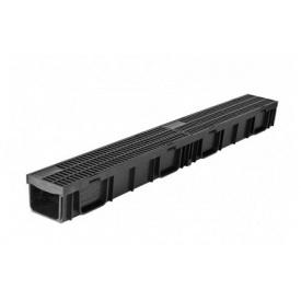 Лоток ЛВ -10.11,5.9,5 LIGHT DN95 пластиковый с решеткой пластиковой (комплект)
