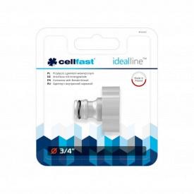 """Адаптер з внутрішньою нарізкою CellFast IDEAL LINE™ PLUS ABS** 3/4"""""""