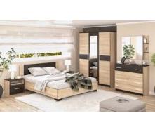 Спальня Мебель-Сервис Вероника дуб санома
