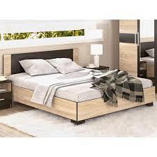 Кровать Мебель-Сервис Вероника 160 дуб санома
