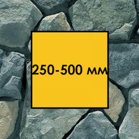 Бутовый камень гранитный фракция 250-500 мм