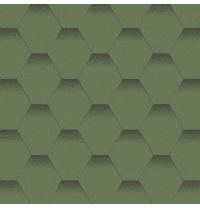 Бітумна черепиця Aquaizol Мозаїка 320х1000 мм альпійський луг
