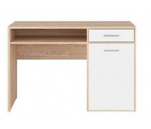 стол письменный BIU120 дуб сонома + нимфея альба Непо Гербор