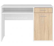 стол письменный BIU120 Нимфея альба + дуб сонома Непо Гербор
