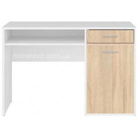 стіл письмовий BIU120 Німфея альба + дуб Сонома Непо Гербор