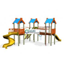"""Ігровий комплекс """"Антошка"""" з пластиковою гіркою A-119600"""