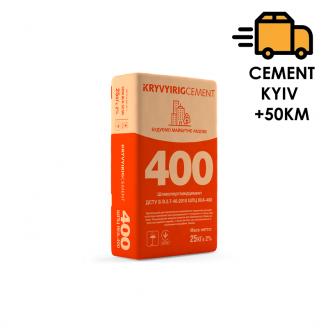 Цемент KRYVYIRIGCEMENT ШПЦ ІІІА-400