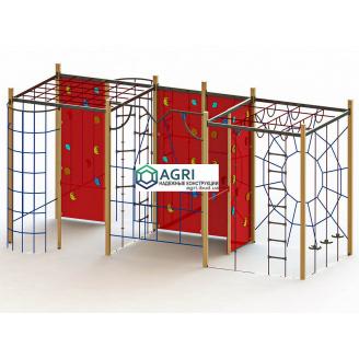 Гімнастичний комплекс Куб A-118000