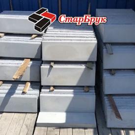 Поребрик тротуарний СтарБрук 500х200х60 мм сірий