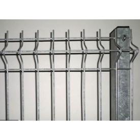 Секционная сетка с оцинкованной стали для забора и ограждения