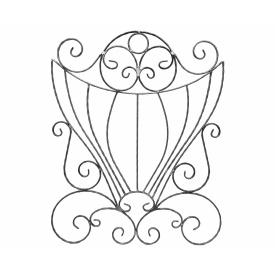 Розет Бароко 720х900х12х6