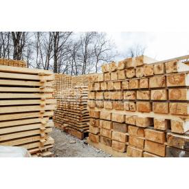Брус Wood Delivery сосновый 200х100х6000 мм
