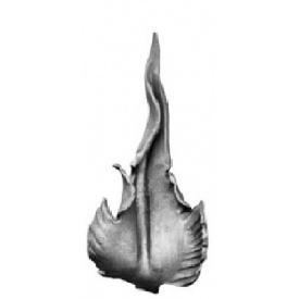 Лист кованый 255х120 мм 4 мм