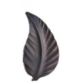 Лист 130x70 мм 2 мм