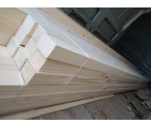 Брусок струганий Дерев'яний декор 100х50 мм