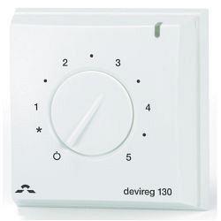 Терморегулятор механический для теплого пола DEVIreg 130