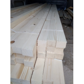 Брусок строганый Деревянный декор 40х20 мм