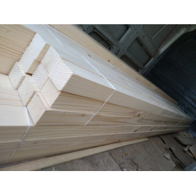 Брусок строганый Деревянный декор 50х50 мм