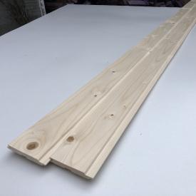 Вагонка Деревянный декор ель 3000х86х16 мм