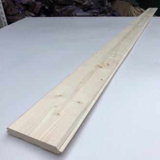 Імітація бруса Дерев`яний декор смерека 3000,6000х150х35 мм