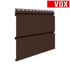 Софіт VOX Infratop Перфорований коричневий