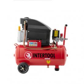 Компресор INTERTOOL PT-0010 24 л 1,5 кВт 220 В 8 атм 206 л / хв