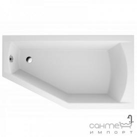 Ассиметричная ванна Polimat Selena 150x90 P 00385 белая, правая