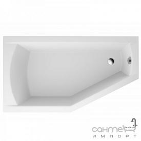 Ассиметричная ванна Polimat Selena 150x90 Л 00386 белая, левая