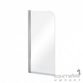 Шторка для ванны Besco Prime-1 70x140 прозрачное стекло