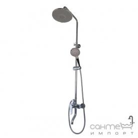 Душова стійка Impulse i3700 з виливом для ванни та ручна лійкою Select