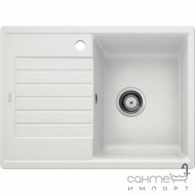 Гранитная кухонная мойка с сушкой Blanco Zia 45S Compact Silgranit 524727 шампань