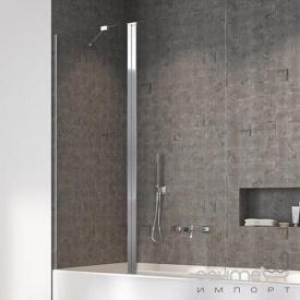 Шторка для ванны Radaway Nes PND 140 10009140-01-01L левосторонняя, хром/прозрачное стекло