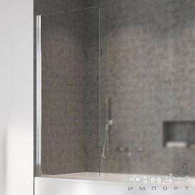 Шторка для ванны Radaway Nes PNJ 80 10011080-01-01L левосторонняя, хром/прозрачное стекло