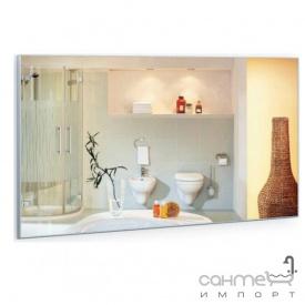 Прямоугольное зеркало в алюминиевой раме Liberta Aperto 600х1000