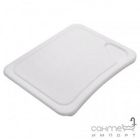 Разделочная доска к кухонной мойке Franke 112.0047.832 белый пластик (450x340mm)