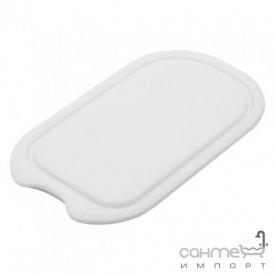 Разделочная доска к кухонной мойке Franke 112.0047.833 белый пластик (320x178mm)