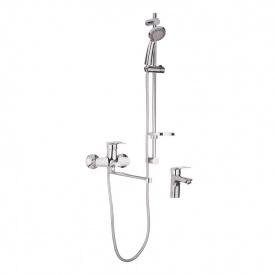 Комплект смесителей для ванной Haiba HANSBERG SET - 3 (HB0902)