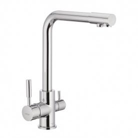 Смеситель для кухни MIXXUS PREMIUM HANS Chr-021 (MI1666) с переключением на фильтр питьевой воды
