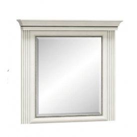зеркало ясень снежный + серебро Бристоль New Мебель-Сервис