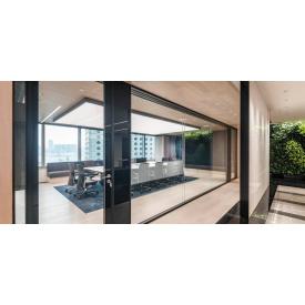 Скляні міжкімнатні двері BMS praktik Thermo glass