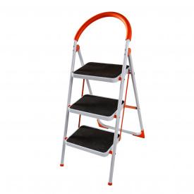 Драбина сталева Laddermaster Intercrus S1A3. 3 сходинки
