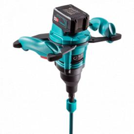 Міксер ручний Collomix Xo 10 NC акумуляторний з насадкою WK 120 HF (HEXAFIX) 18В 5.2Ач 2 батареї
