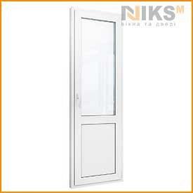 Пластиковые двери Белые WDS404 900х2100 мм NIKS-M