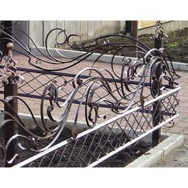 Забор кованый металлический Legran