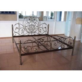 Ліжко кована двоспальне з міцним каркасом Legran