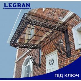 Навіс кований дизайнерський Legran під ключ