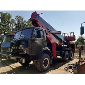 Оренда автовишки 34м всюдихід на базі Камаз
