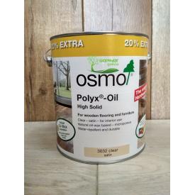 Олія з вовоском для паркету та дерев'яних підлог OSMO 3 л 3032