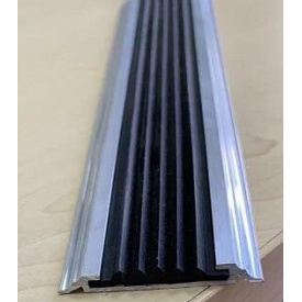 Алюминиевый порожек антискользящим УЛ-150 3 м